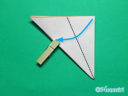 折り紙で簡単なガーベラの折り方手順12