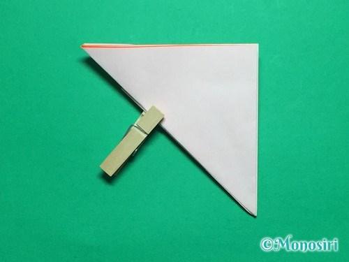 折り紙で簡単なガーベラの折り方手順11