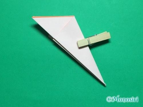 折り紙で簡単なガーベラの折り方手順13