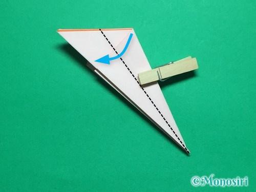 折り紙で簡単なガーベラの折り方手順14