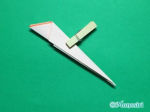 折り紙で簡単なガーベラの折り方手順15