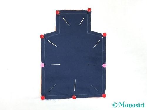 赤ちゃんの汗取りパッドの作り方手順3