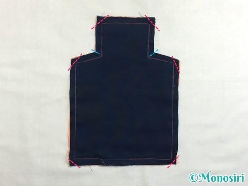 赤ちゃんの汗取りパッドの作り方手順6
