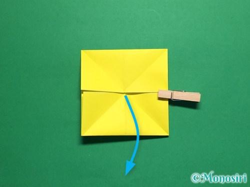 折り紙で蝶(ちょうちょ)の折り方手順11