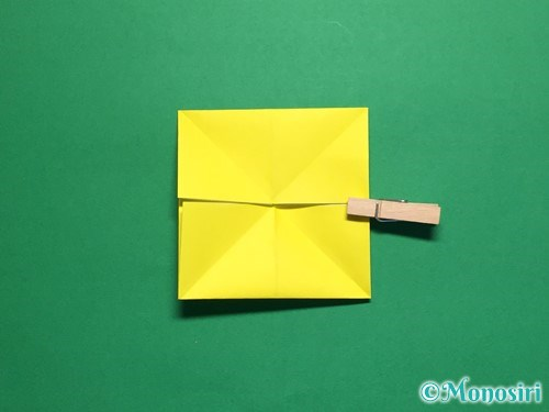 折り紙で蝶(ちょうちょ)の折り方手順10