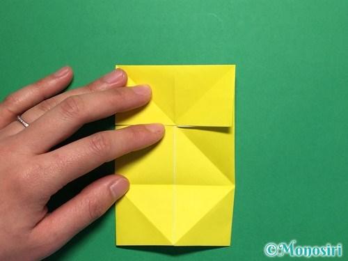 折り紙で蝶(ちょうちょ)の折り方手順12