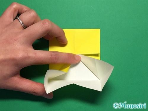 折り紙で蝶(ちょうちょ)の折り方手順14