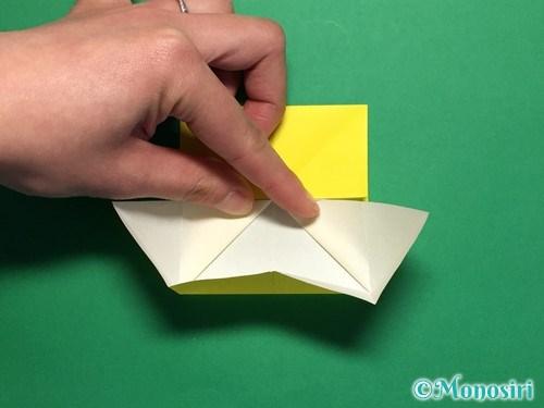 折り紙で蝶(ちょうちょ)の折り方手順15