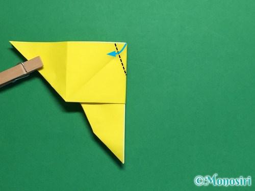 折り紙で蝶(ちょうちょ)の折り方手順26