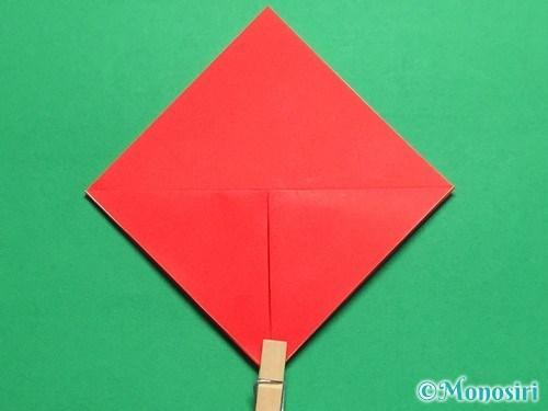 折り紙で立体的なてんとう虫の折り方手順6