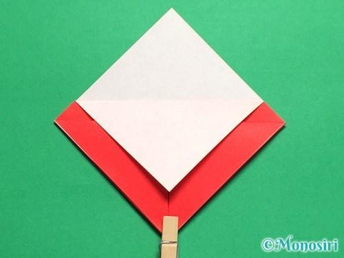 折り紙で立体的なてんとう虫の折り方手順8
