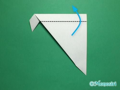 折り紙で葉っぱの折り方手順7
