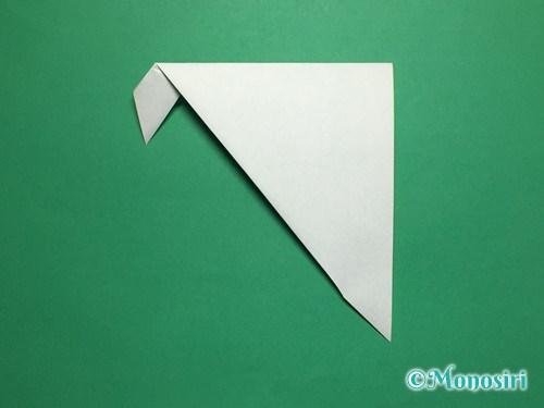 折り紙で葉っぱの折り方手順6