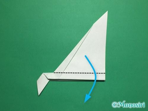 折り紙で葉っぱの折り方手順9