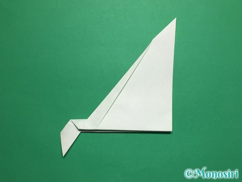 折り紙で葉っぱの折り方手順8