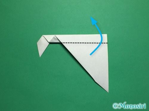 折り紙で葉っぱの折り方手順10