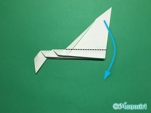 折り紙で葉っぱの折り方手順11
