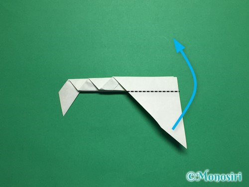 折り紙で葉っぱの折り方手順12