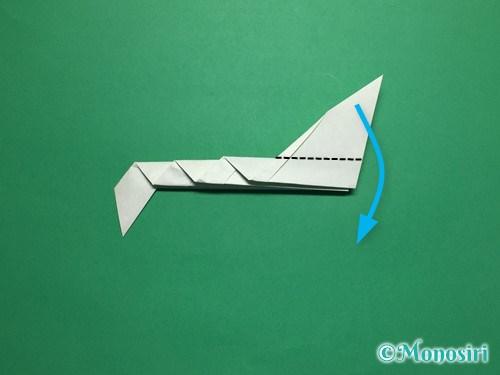 折り紙で葉っぱの折り方手順13