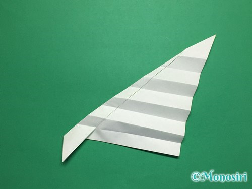 折り紙で葉っぱの折り方手順16