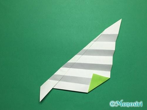 折り紙で葉っぱの折り方手順20