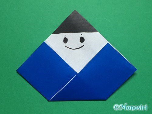 折り紙でお内裏様とお雛様の折り方手順8