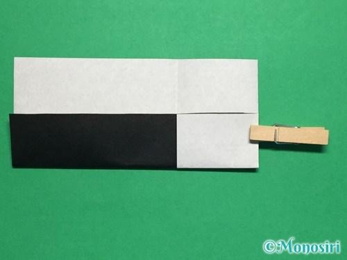 折り紙でぼんぼりの折り方手順8