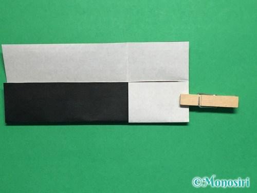 折り紙でぼんぼりの折り方手順10