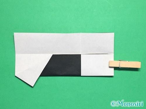 折り紙でぼんぼりの折り方手順12