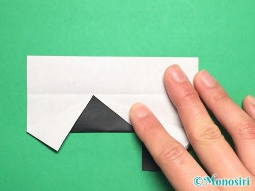 折り紙でぼんぼりの折り方手順15