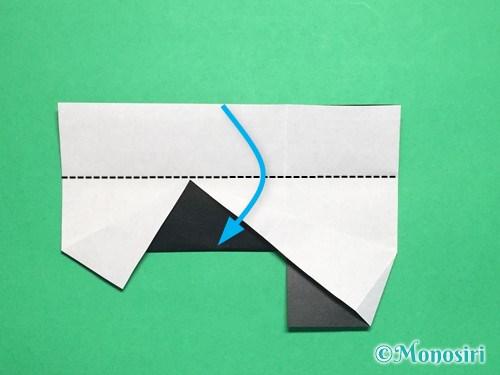 折り紙でぼんぼりの折り方手順17