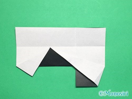 折り紙でぼんぼりの折り方手順16