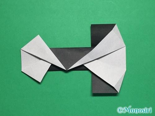 折り紙でぼんぼりの折り方手順20
