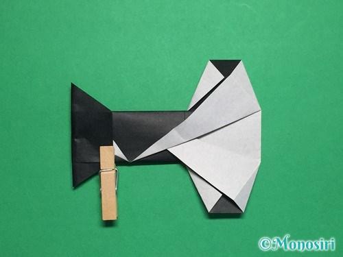 折り紙でぼんぼりの折り方手順22