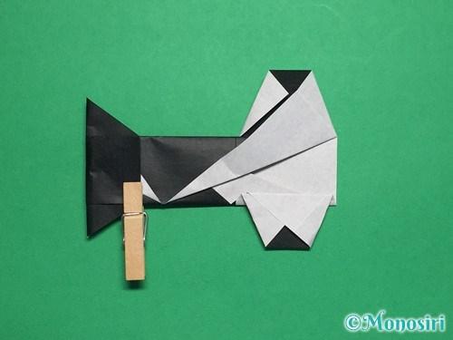 折り紙でぼんぼりの折り方手順26