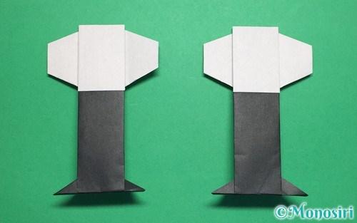折り紙で作ったぼんぼり