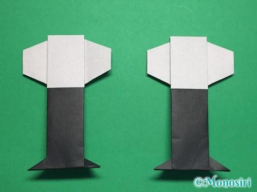 折り紙でぼんぼりの折り方手順29