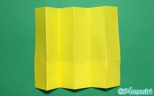 折り紙で作った屏風