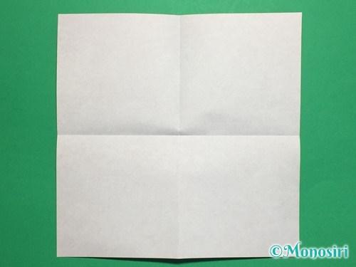 折り紙でお内裏様とお雛様の折り方手順2