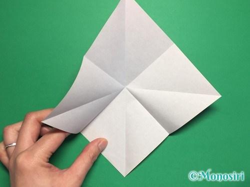 折り紙でお内裏様とお雛様の折り方手順6