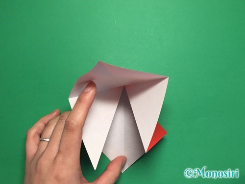 折り紙でお内裏様とお雛様の折り方手順7