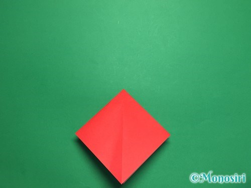 折り紙でお内裏様とお雛様の折り方手順9