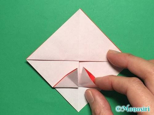 折り紙でお内裏様とお雛様の折り方手順16