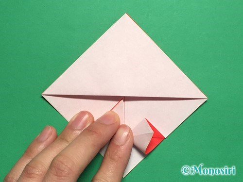 折り紙でお内裏様とお雛様の折り方手順17