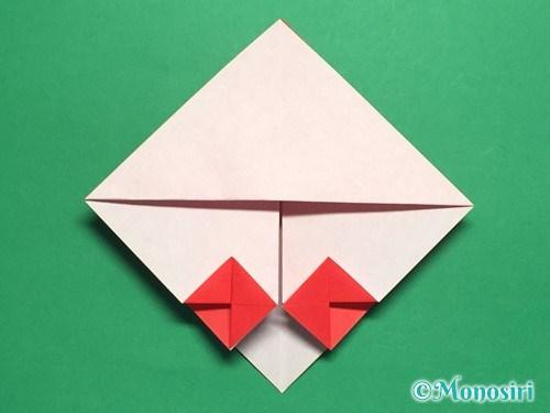 折り紙でお内裏様とお雛様の折り方手順21