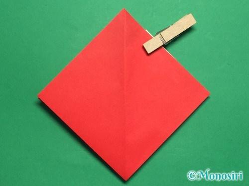 折り紙でお内裏様とお雛様の折り方手順23