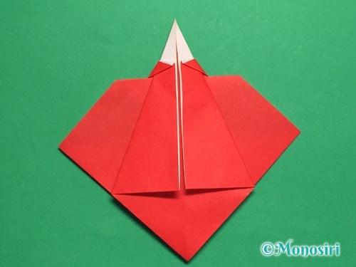 折り紙でお内裏様とお雛様の折り方手順25