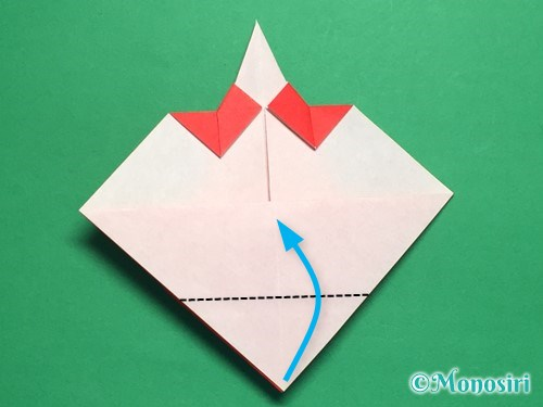 折り紙でお内裏様とお雛様の折り方手順27