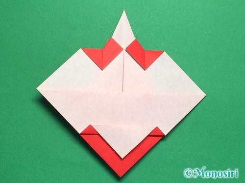 折り紙でお内裏様とお雛様の折り方手順30