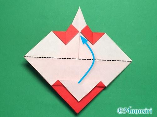 折り紙でお内裏様とお雛様の折り方手順31